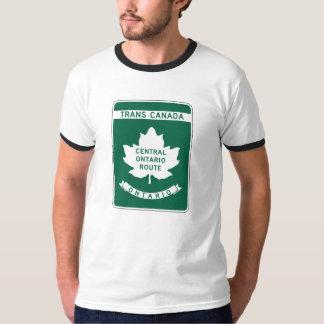 Ontario, Trans-Canada Highway Sign Shirt