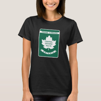 Ontario, Trans-Canada Highway Sign T-Shirt