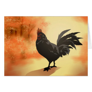 Onward - Rooster Card