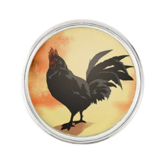 Onward - Rooster Lapel Pin