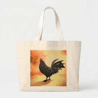Onward - Rooster Large Tote Bag