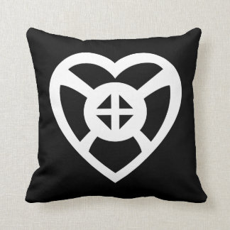 Onyankopon Adom... |  Symbol for Hope and Faith Throw Pillow