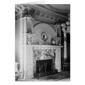 Onyx Fireplace, Ponce de Leon Hotel, St. Augustine Stationery Note Card