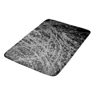Onyx & Jet Bath Mat Designed by Artist C.L. Brown