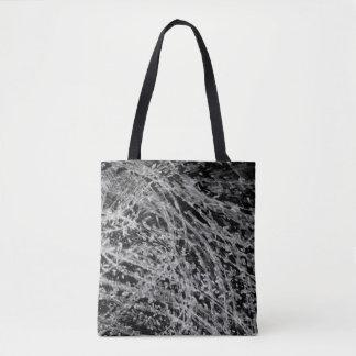 Onyx & Jet Tote Bag by Artist C.L. Brown