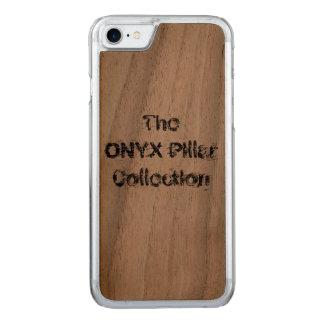 ONYX Pillar iPhone 7 Walnut Case