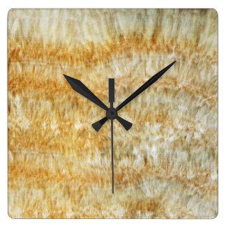 Onyx Stone Pattern Acrylic Wall Clock