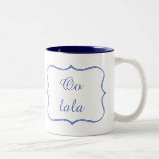 Oo lala Two-Tone coffee mug