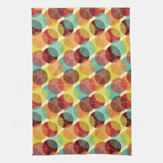 Oodles of Dots Kitchen Towel - Warm