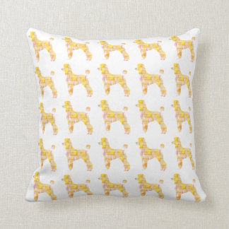 Oodles of Poodles Throw Pillow