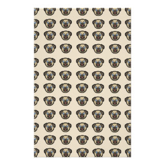 Oodles of Pugs Personalized Stationery