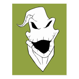 Oogie Boogie   Grinning Face Postcard