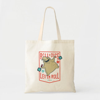 Oogie Boogie   Roll The Dice Tote Bag