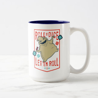 Oogie Boogie | Roll The Dice Two-Tone Coffee Mug