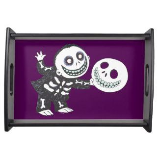 Oogie's Boys | Barrel Holding Mask Serving Tray