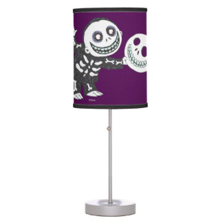 Oogie's Boys   Barrel Holding Mask Table Lamp