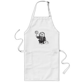 Oogie's Boys   Barrel With Candy Sketch Long Apron