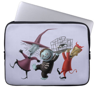 Oogie's Boys | Lock, Shock & Barrel with Cage Laptop Sleeve