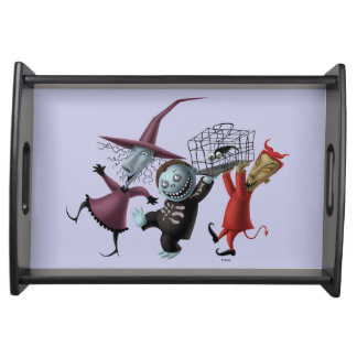 Oogie's Boys | Lock, Shock & Barrel with Cage Serving Tray