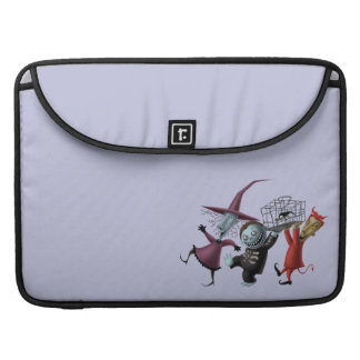 Oogie's Boys | Lock, Shock & Barrel with Cage Sleeve For MacBooks