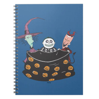 Oogie's Boys - Trick or Treat Spiral Notebook