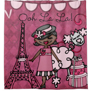 Ooh La La African American Diva Eiffel Tower