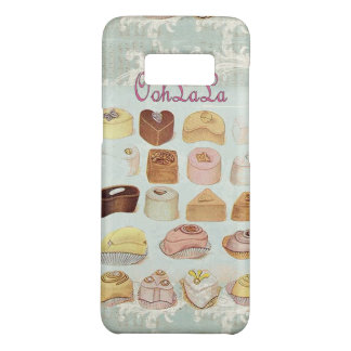 ooh la la bakery  pastry chocolate french cafe Case-Mate samsung galaxy s8 case