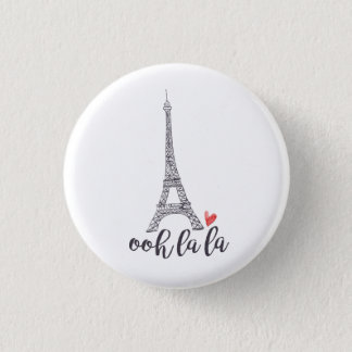 Ooh la la Paris Button