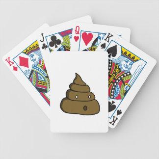 ooh poop bicycle playing cards