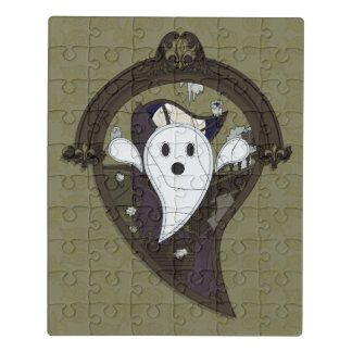Ooh the Ghost Acrylic Puzzle