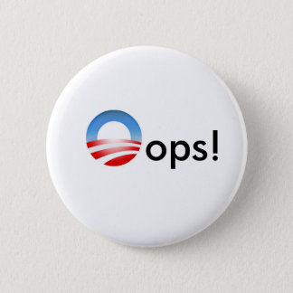 Oops! 2 Inch Round Button
