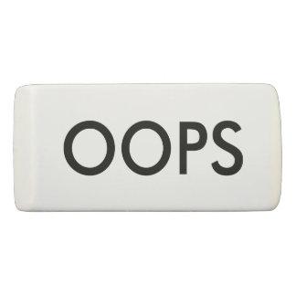 OOPS Minimalistic Eraser