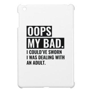 OOPS My Bad iPad Mini Covers