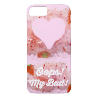 Oops, Strawberry Mess! iPhone 7 Case