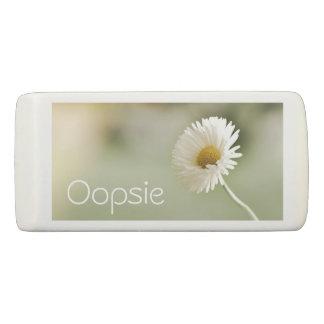 Oopsie Daisy - Pretty Flower Eraser