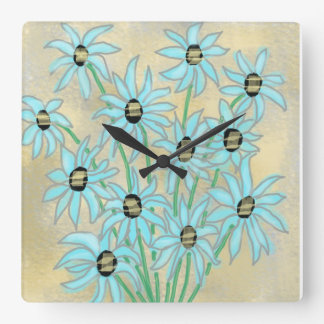 Oopsy Daisy Wall Clock by Julie Everhart