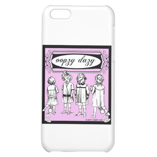 Oopzy Dazy iPhone 5C Case