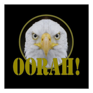 OORAH EAGLE POSTER