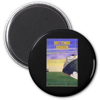 Oostende Dover Ferry Magnet