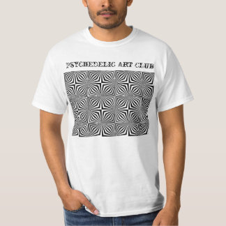 op-art2copy, Psychedelic Art Club T-Shirt