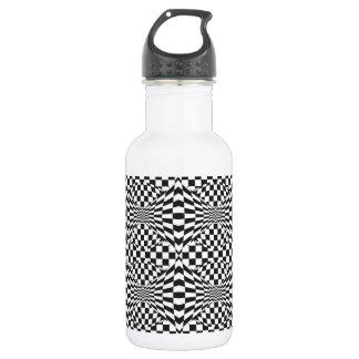 Op Art Background 1 532 Ml Water Bottle