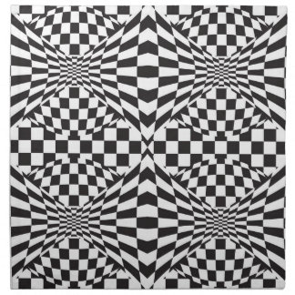 Op Art Background 1 Printed Napkin