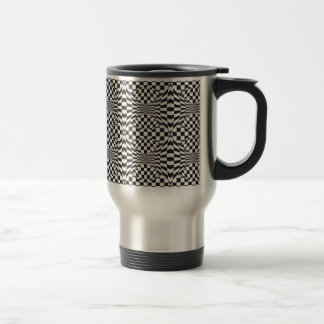 Op Art Background 1 Travel Mug