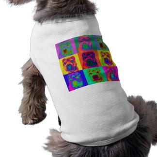 Op Art - Chinese Shar Pei Dog T Shirt