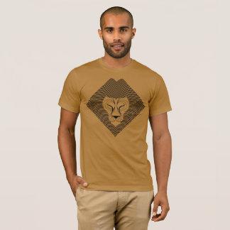 Op Art Lion - Version 1 T-Shirt