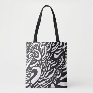 Op Art Series Tote Bag