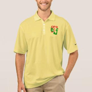 Opa Elf Christmas Polo Shirt
