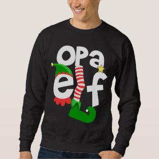 Opa Elf Christmas Sweatshirt
