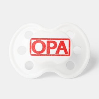 Opa Stamp Pacifier