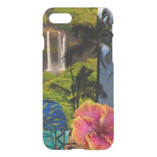 Opaeka'a Falls, Kauai Hawaiian Collage iPhone 7 Case